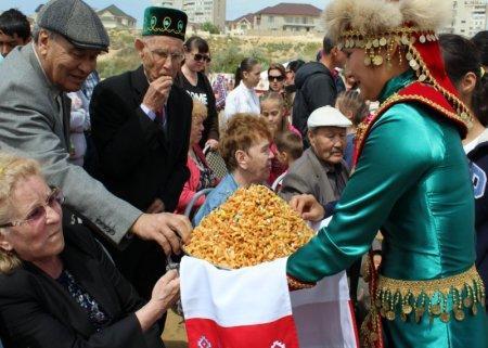 В Актау празднуют Сабантуй