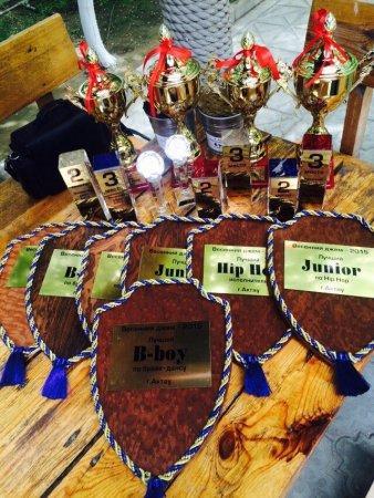 В Актау прошли соревнования по брейк-дансу «Весенний джем-2015»