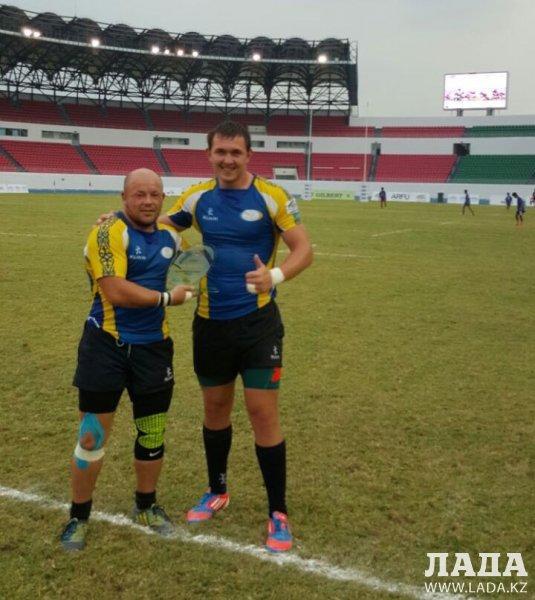 Регбисты из Актау в составе национальной сборной стали бронзовыми призерами чемпионата Азии в Филиппинах