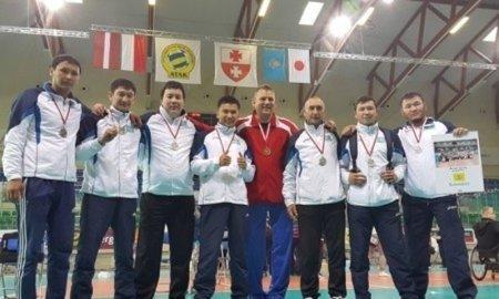 Мангистауские спортсмены стали серебряными призерами международного турнира по волейболу сидя в Польше