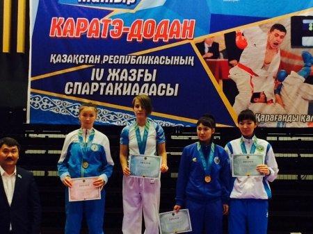 На спартакиаде в Караганде актауские каратисты завоевали 12 медалей