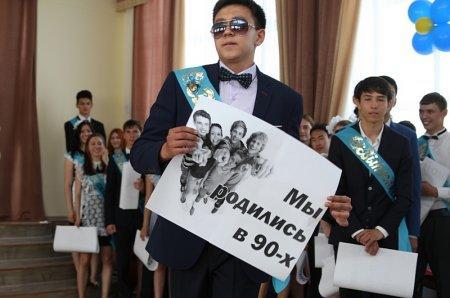 Последний звонок прозвенел для 1 465 выпускников Актау