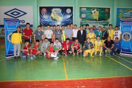 Команда ДВД Мангистауской области одержала победу в соревнованиях по футзалу