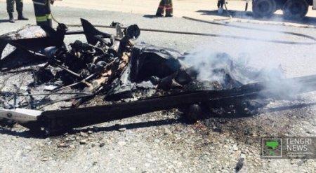 Депутат маслихата погиб при крушении вертолета близ Талдыкоргана