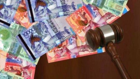 В Кокшетау чиновника оштрафовали на 4 млн за взятку в 65 тыс тенге