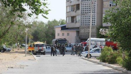 Полиция просит граждан сохранять спокойствие во время антитеррористических учений в Актау