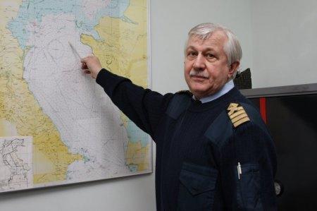 Сотрудники порта Актау приняли участие в учениях по спасению людей на Каспии