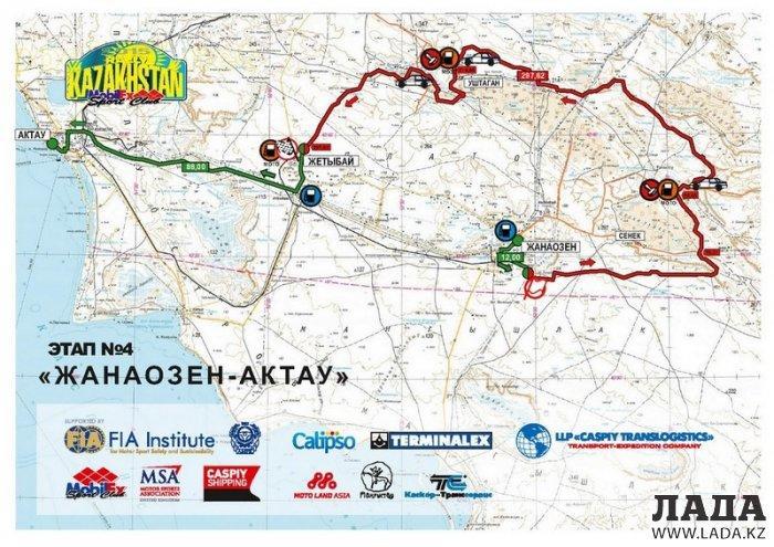«Rally KAZAKHSTAN 2015» стартует 31 мая на набережной Актау