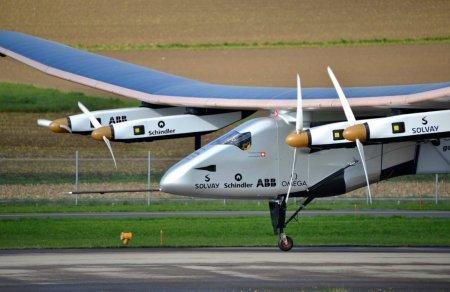 Самолет на солнечных батареях начал перелет над Тихим океаном