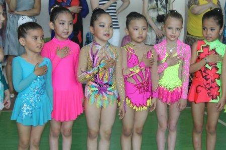 Турнир по художественной гимнастике прошел в Актау
