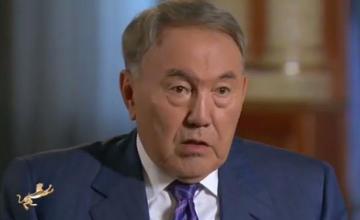На казахстанских телеканалах выходит документальный фильм «С Назарбаевым о главном»