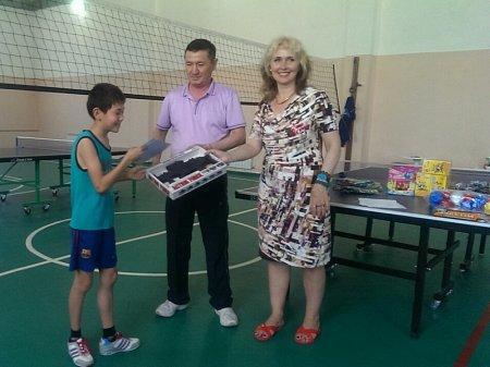 В Актау определились победители соревнований по настольному теннису среди госслужащих