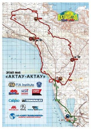В Мангистау прошел первый этап гонок «Rally KAZAKHSTAN 2015»
