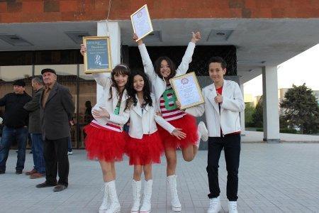 Квартет «Жулдыздар» из Актау стал победителем международного детского фестиваля «Золотая пчелка»