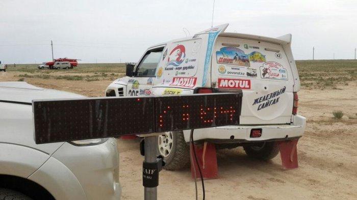 В Мангистау прошел второй этап гонок «Rally KAZAKHSTAN 2015»