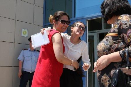 Зейнеп Тастемирова: В Актау в первый день сдачи ЕНТ нарушений не было