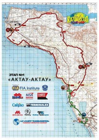 В Мангистау завершился третий этап гонок «Rally KAZAKHSTAN 2015»