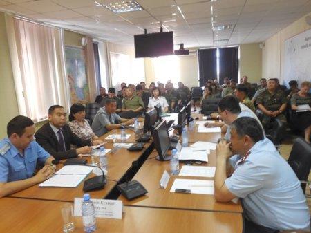 В ДЧС Мангистау обсудили вопросы  противодействия коррупции в государственных органах