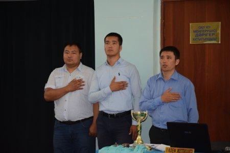 Товарищеская встреча по казакша курес между командами Актау и Мунайлы прошла в областном центре