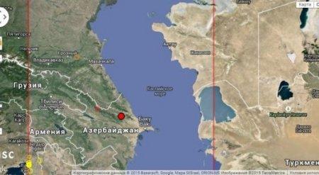 Землетрясение магнитудой 3,3 произошло в 370 километрах от Актау