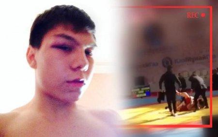 Юного борца ударил тренер соперника на соревнованиях в Атырау