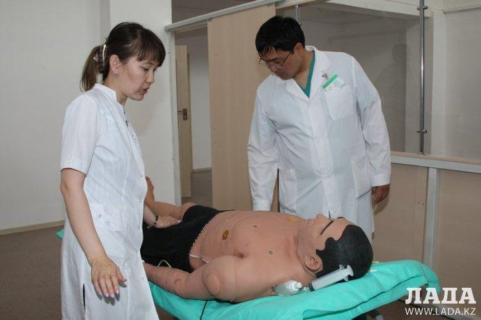 В областной больнице Актау открывается симулятивный центр