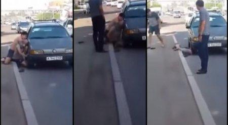 Случай с удушением на дороге в Алматы: Участники конфликта задержаны