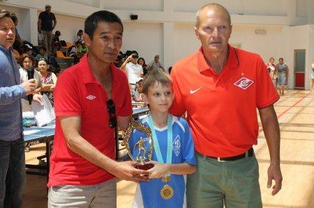 В Актау завершился международный турнир по футболу памяти тренера Георгия Воробьева