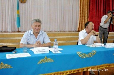 На пост акима села Умирзак избрали Ербола Сарыева
