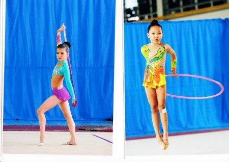 Актауские гимнастки выполнили спортивные разряды на международном турнире в Алматы
