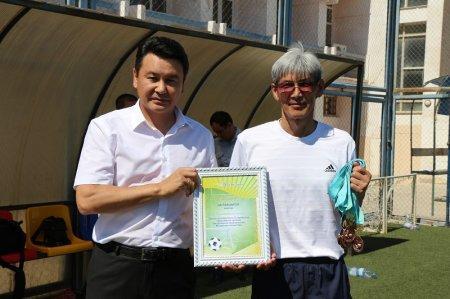 Команда ДВД Мангистау стала победителем турнира по мини-футболу среди сотрудников силовых структур