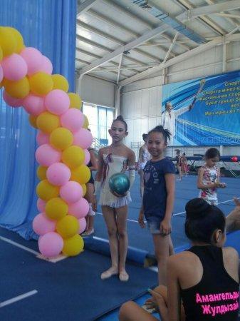 Актауские гимнастки приняли участие в чемпионате в Таразе