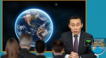 Мамытбекову пришлось объяснять коллегам, что Земля круглая