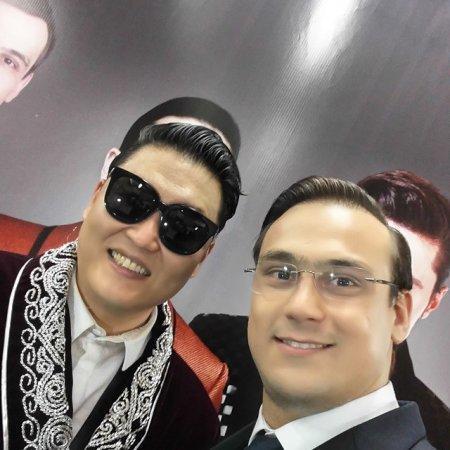 PSY впервые в жизни выступил в Казахстане