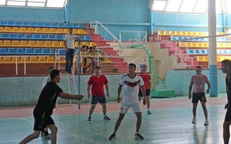 В Актау в спорткомплексе «Мунайши» прошла спартакиада среди силовых структур