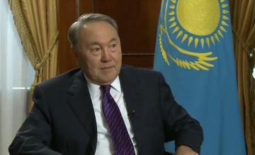 Н.Назарбаев дал интервью программе «Формула власти» на телеканале «Россия 24»