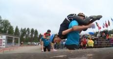 Чемпионат по перетаскиванию жен прошел в Финляндии