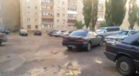 В Павлодаре машина без водителя попала в ДТП
