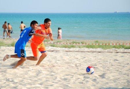 В конце июля в Актау стартуют два турнира по пляжному футболу