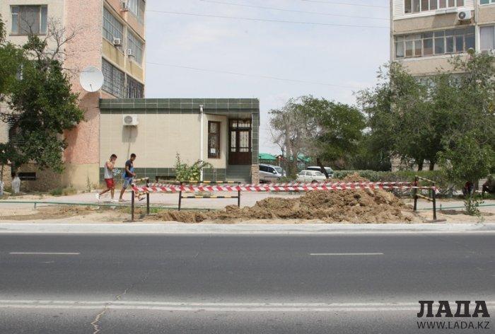 Перекопанный Актау. Фотопост