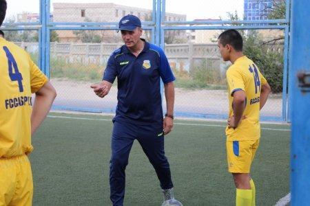 В Актау обещали открыть футбольный центр