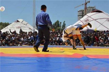 Актауские спортсмены стали серебряными призерами чемпионата Азии по казакша курес в Китае