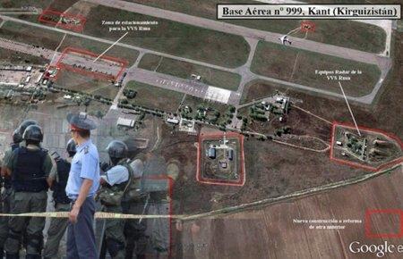Ликвидированные боевики пытались взорвать авиационную базу России в Кыргызстане