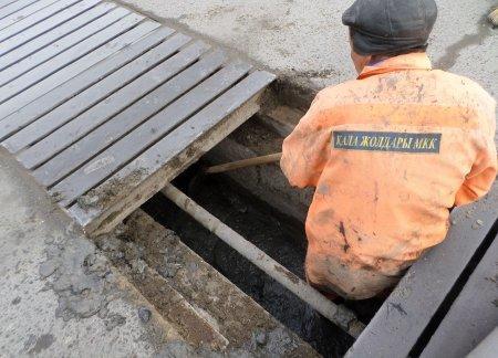 ТОО «Кала жолдары»: В Актау отремонтировали ливневую канализацию
