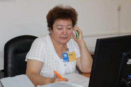 Директор Мангистауского филиала «Казпочты» один день поработал почтальоном
