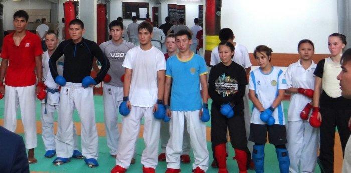 В Актау провели отбор каратистов для участия в Азиатских играх