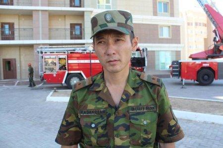 В Актау пожарные отработали учения в высотном доме