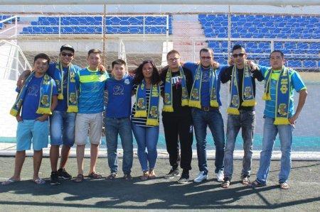 Фанаты футбольного клуба «Каспий»: Главная задача для команды - выйти в Премьер-лигу