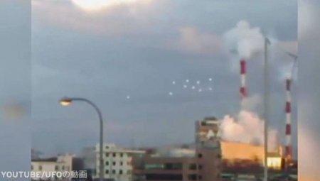 В небе над Японией видели сразу 10 НЛО