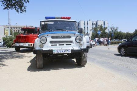 В Актау столкнулись три автомобиля